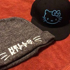 Hello Kitty combo hat set